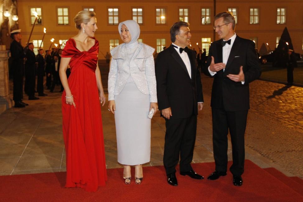 State banquet for Turkish President Gül