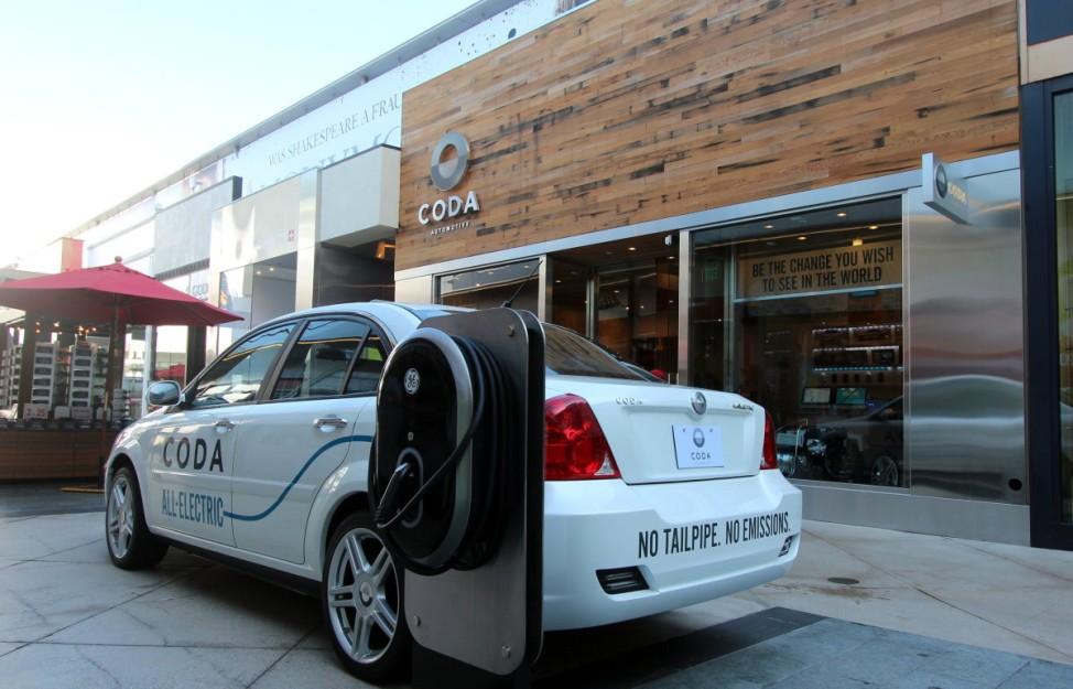 Auf den Spuren des Tesla Coda Motors Elektroauto Los Angeles