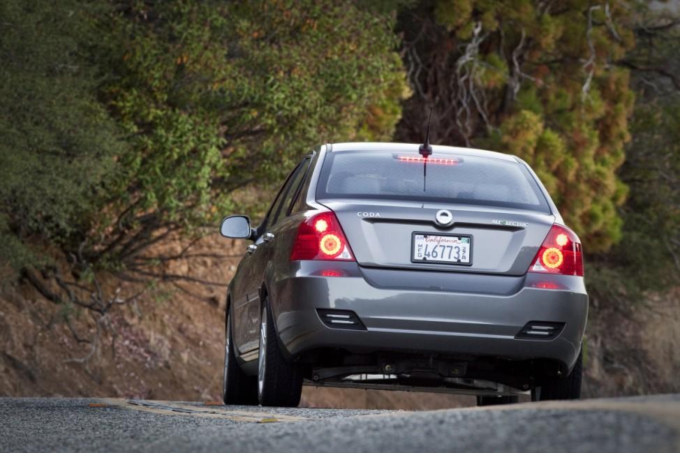 Auf den Spuren des Tesla Coda Motors / Los Angeles Elektroauto