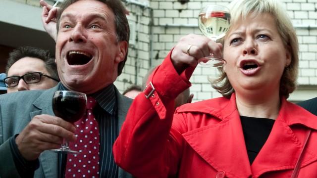 Mehrheit der Linken-Basis haelt Doppelspitze fuer eine Fehlbesetzung