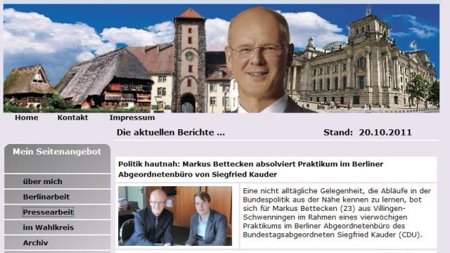 kauder website