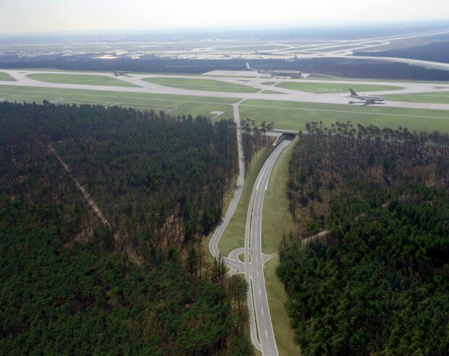 Frankfurter Flughafen Nordwest Landebahn