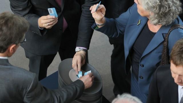 Bundestag Abstimmung über Euro-Rettungsschirm