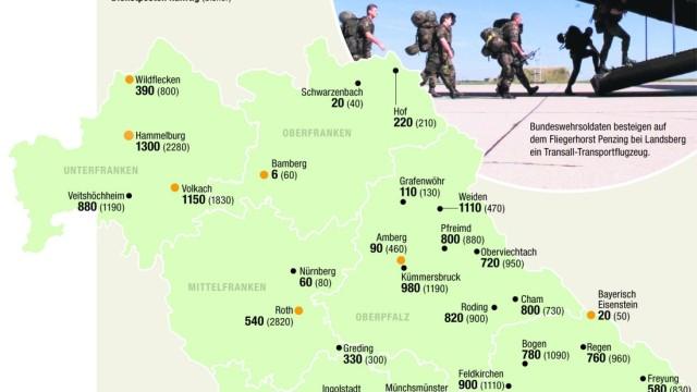 Bundeswehr Standorte Bayern