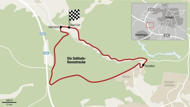 rennstrecken deutschland karte Rennstrecke Solitude   Auto & Mobil   SZ.de