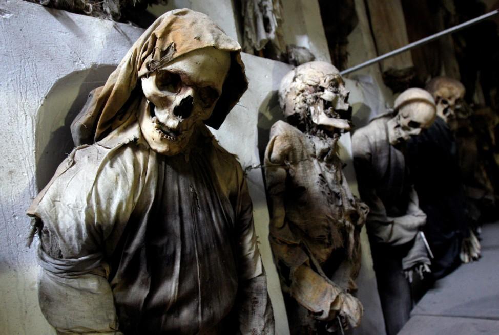 Mumien Mönche Katakomben Palermo