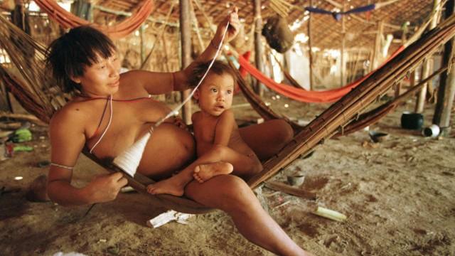 Yanomami Indianer