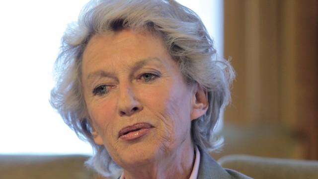 Frankfurts ehemalige Oberbürgermeisterin Petra Roth
