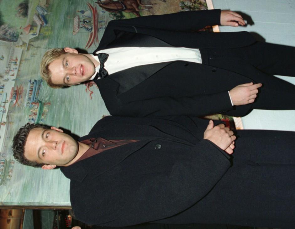 BEN AFFLECK AND MATT DAMON ARRIVE AT MOTION PICTURES AWARDS