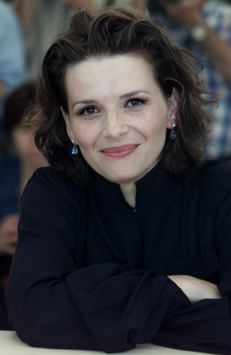 FRENCH ACTRESS JULIETTE BINOCHE AT CANNES FILM FESTIVAL