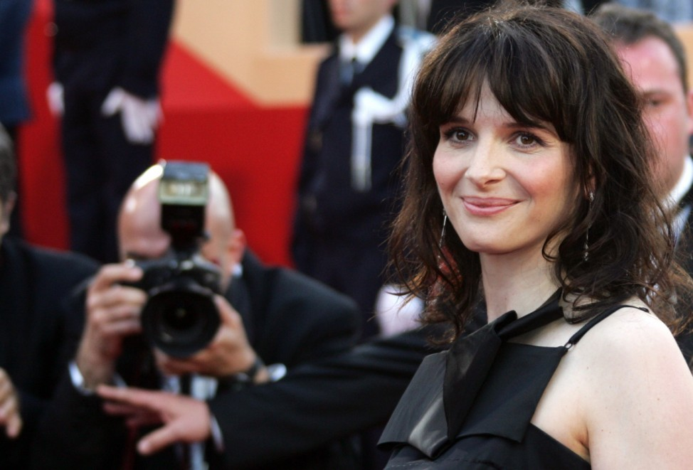 French actress Binoche arrives for screening of film at Cannes Film Festival