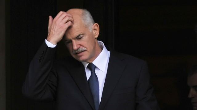 Debatte über griechisches Referendum: Unter dem Druck seiner EU-Partner musste Griechenland Premier Papandreou die Pläne für sein Referendum aufgeben.