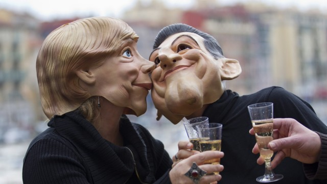 Anti-G20 protest in Nice