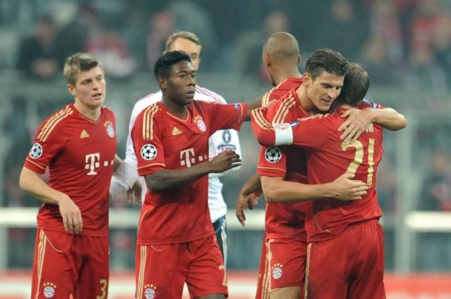 Champions League - FC Bayern München - SSC Neapel 3:2