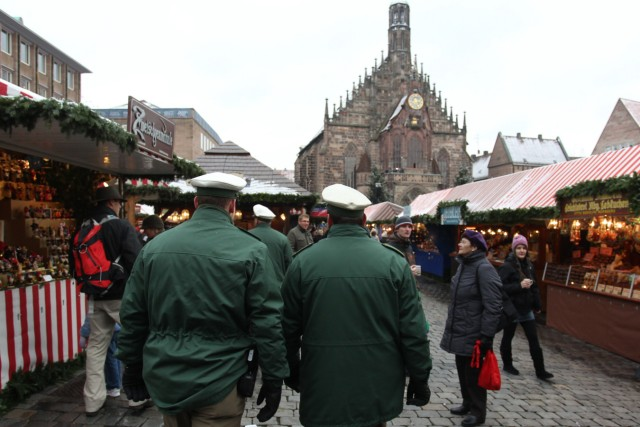 Christkindlesmarkt Nürnberg - Polizei