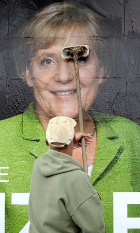 Plakatwerbung im Bundestagswahlkampf