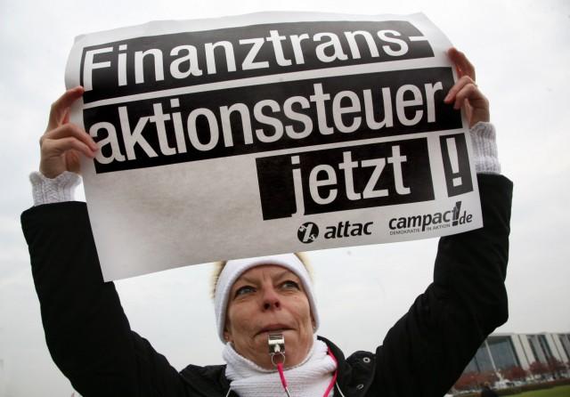 Demo gegen Banken