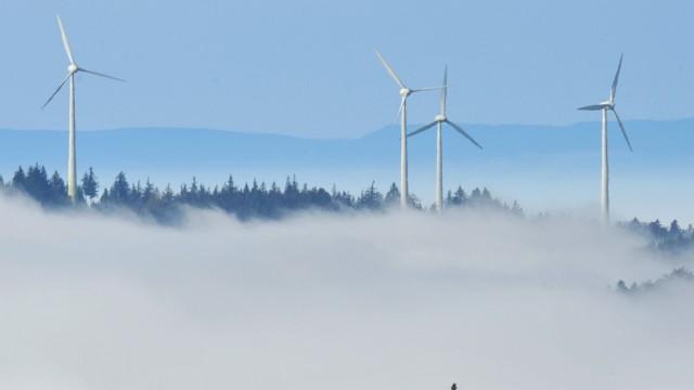 Herbstsonne und Nebel im  Hochschwarzwald