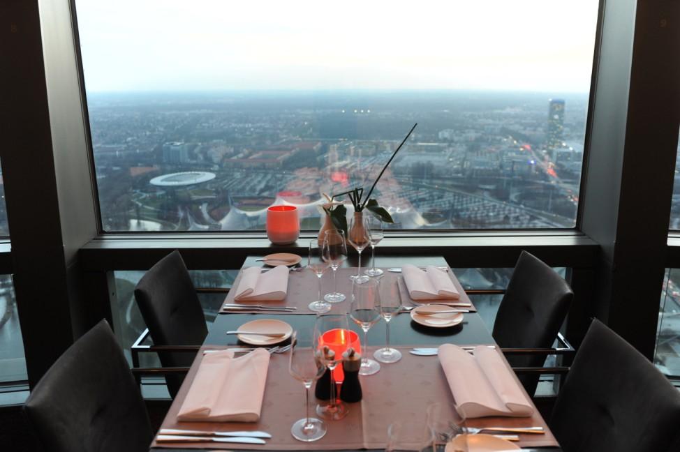 'Restaurant 181' im Münchner Olympiaturm, 2011