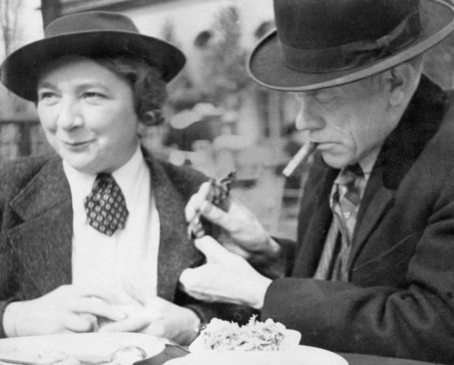 Karl Valentin und Liesl Karlstadt, 1946