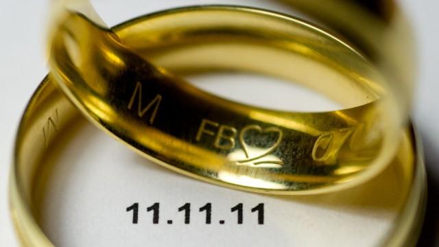 Heiraten am 11.11.11
