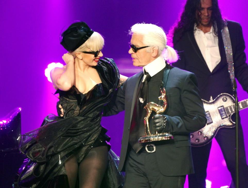 Lady Gaga, Karl Lagerfeld