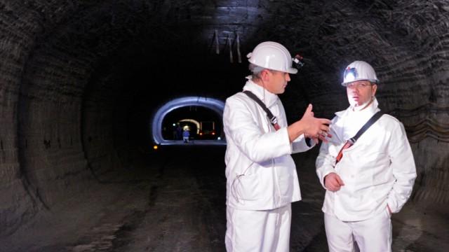 Atommüll-Endlagersuche - Erkundungsbergwerk Gorleben