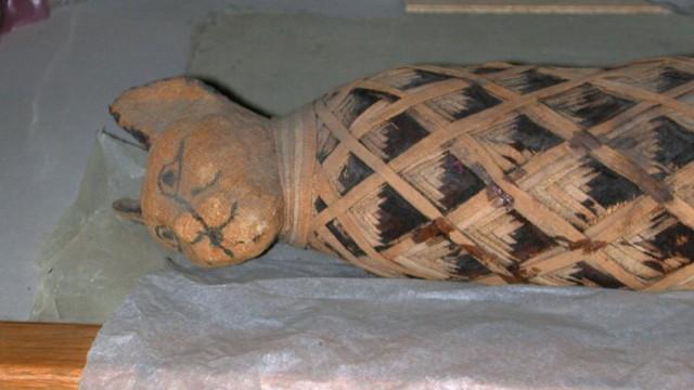 ÄGYPTISCHE KATZENMUMIE