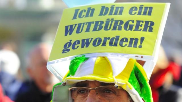 'Echte Demokratie Jetzt!' - Demonstration