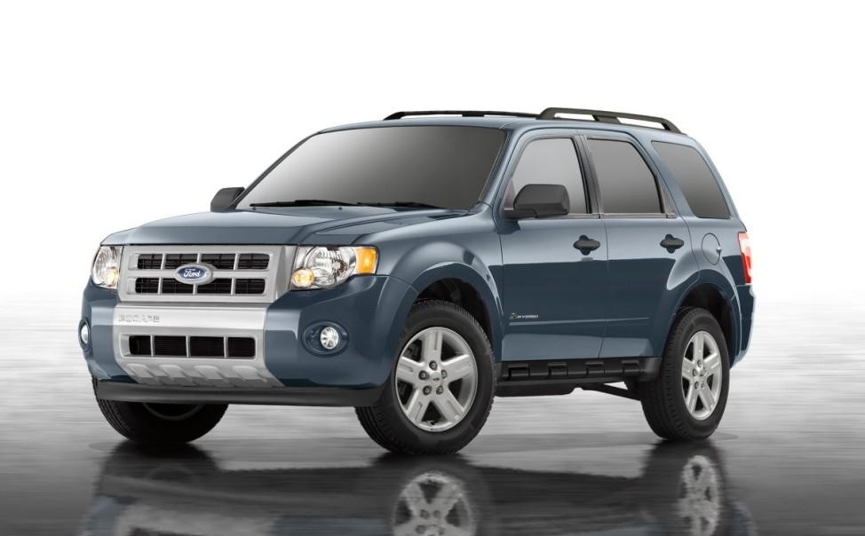 Kante war gestern Ford Escape (Auslaufmodell, US-Version)