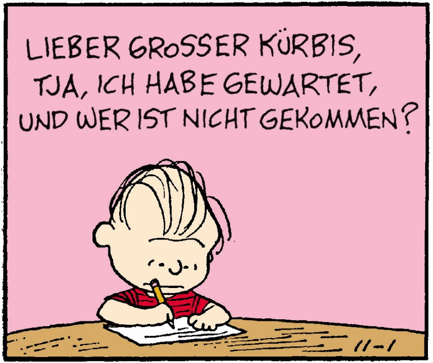Peanuts, Dilberts, Reality Check, November