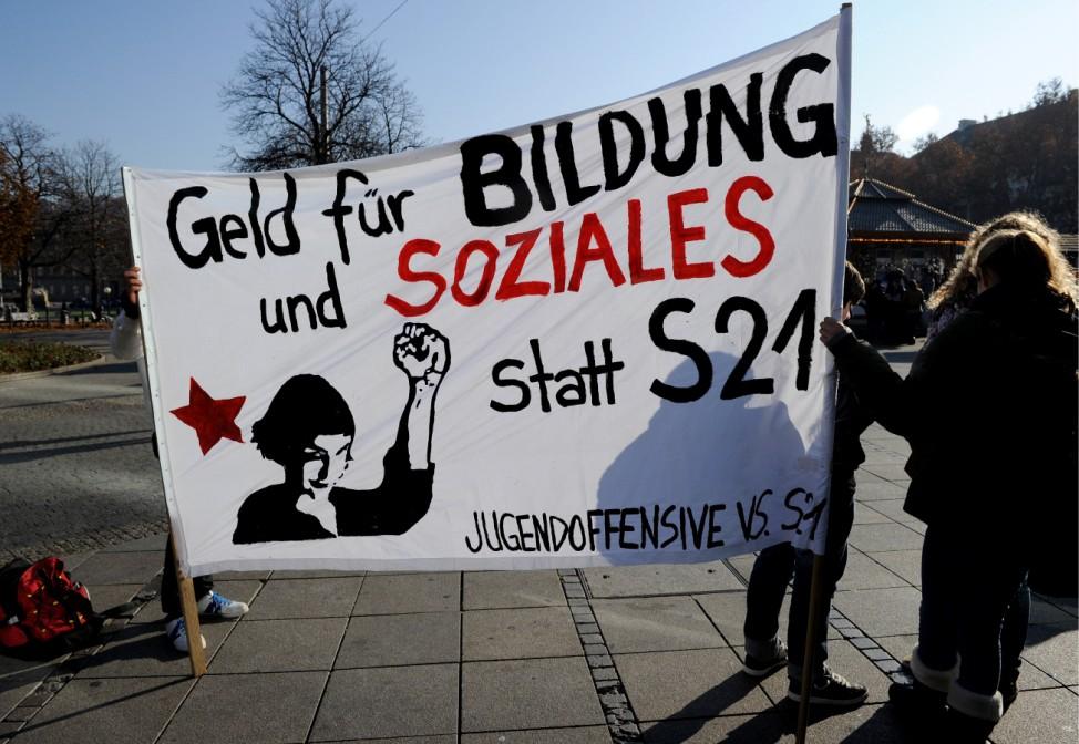 Bildungsstreik in Stuttgart