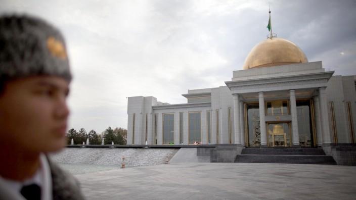 Turkmenistan Präsidentenpalast