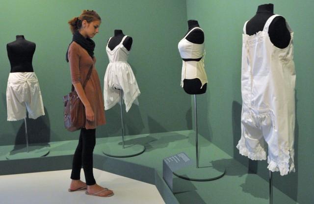 Wäscheausstellung im Textilmuseum Augsburg
