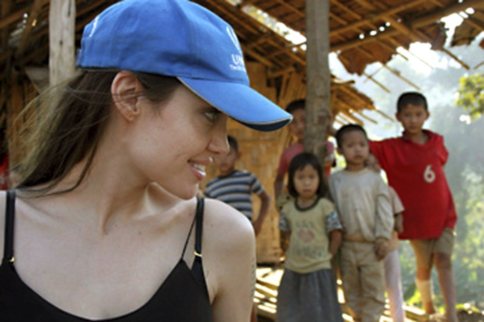 Engagierte Prominente - Angelina Jolie