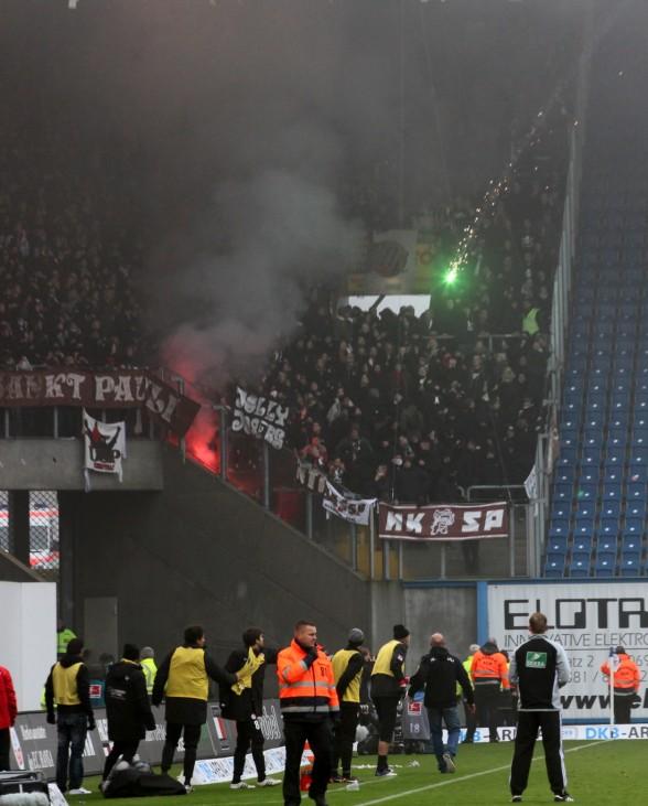 FC Hansa Rostock v FC St. Pauli  - 2. Bundesliga