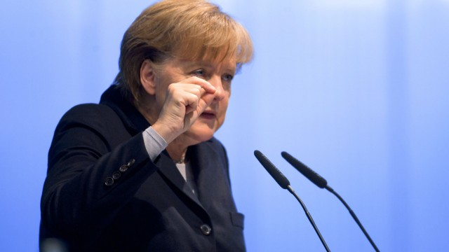 CDU-Landesparteitag MV - Merkel