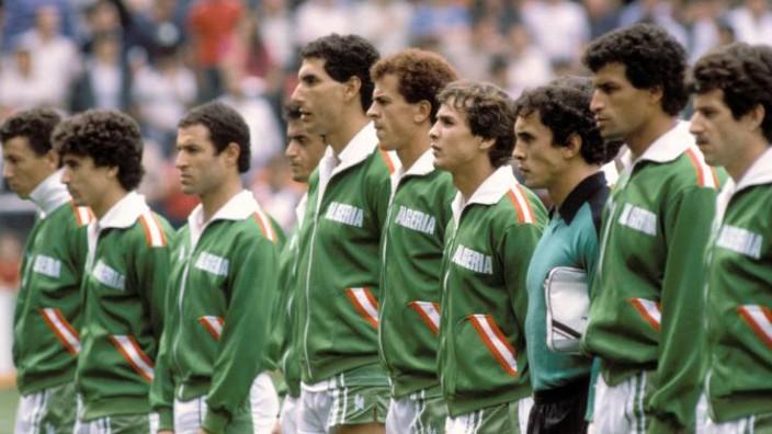 Nationalmannschaft Algerien 1982