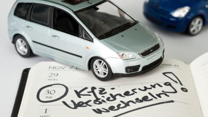 Kfz-Versicherung, Versicherung, Kfz, Auto, Assekuranz, Tarif, Tarifwechsel