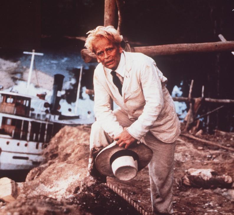 "Klaus Kinski als Carusofan Fitzcarraldo in dem Film ""Fitzcarraldo"", 1982"