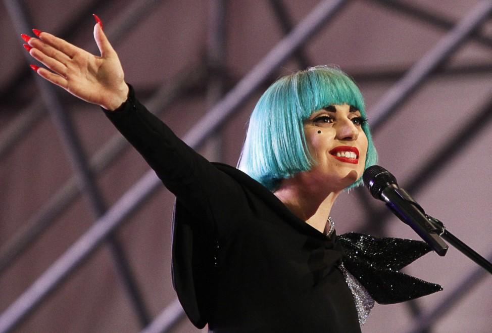 Lady Gaga kocht am Erntedankfest