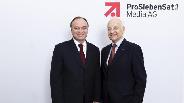 Dr. Edmund Stoiber und Thomas Ebeling