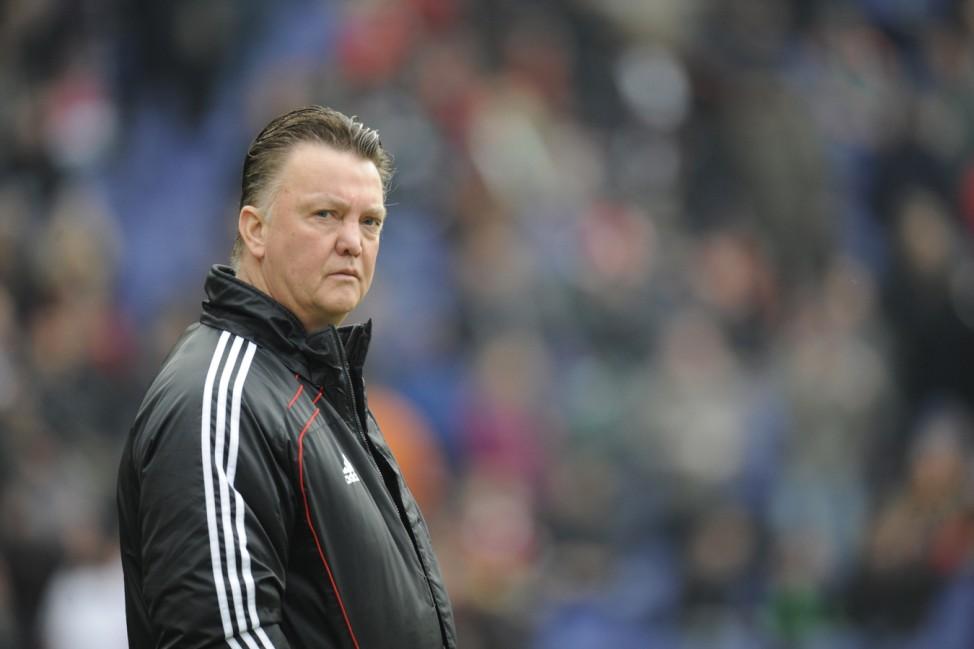 Kinderdienst: Bayern-Trainer Louis van Gaal hoert nach dieser Spielzeit auf