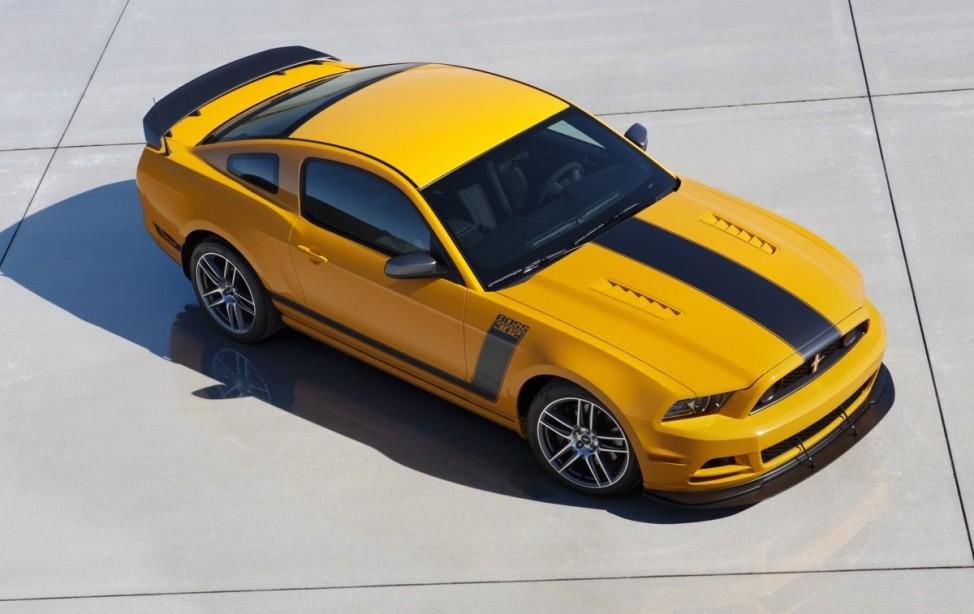 Pferdepflege Ford Mustang Boss 302