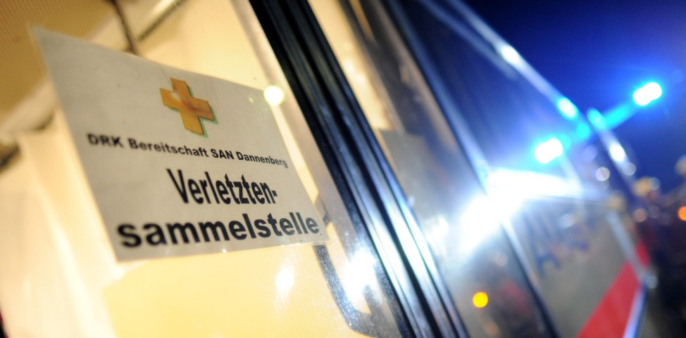 Castor-Transport - Protest Metzingen