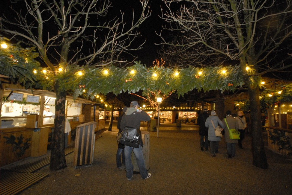 Weihnachtsmarkt, München, Christkindlmarkt, Englischer Garten, Chinesischer Turm