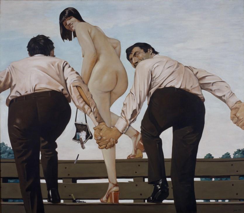 Johannes Grützke: Darstellung der Freiheit