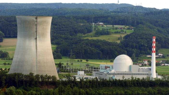Schweizer Atomkraftwerk Leibstadt