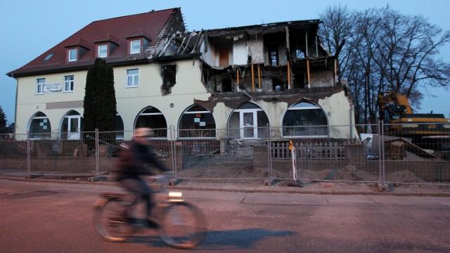 Haus der Zwickauer Terrorzelle wird abgerissen