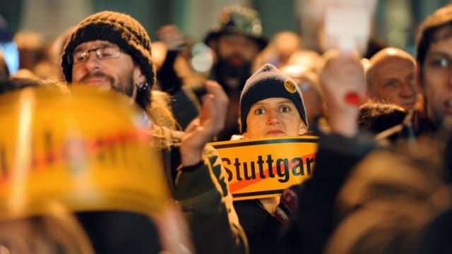 Volksabstimmung zu 'Stuttgart 21'